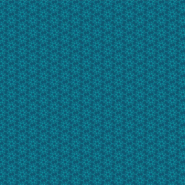 Starry Grid, Teal