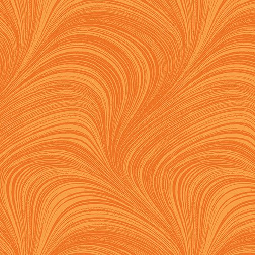 Autumn Leaves, Orange Wave