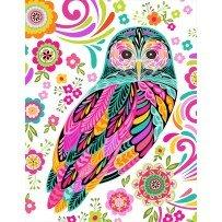 Feathers & Foliage, White Owl
