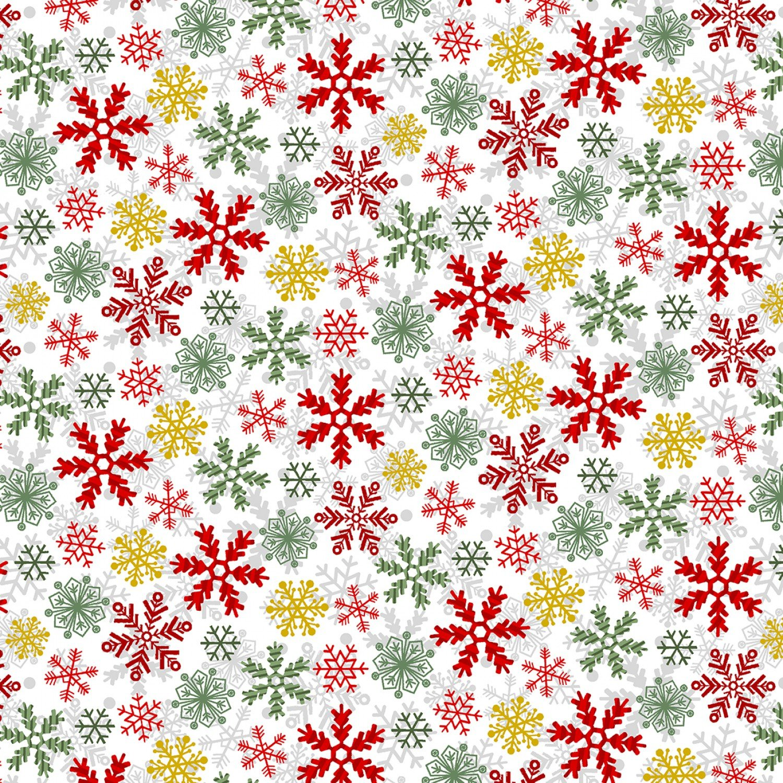 Yuletide Cheer, Snowflakes