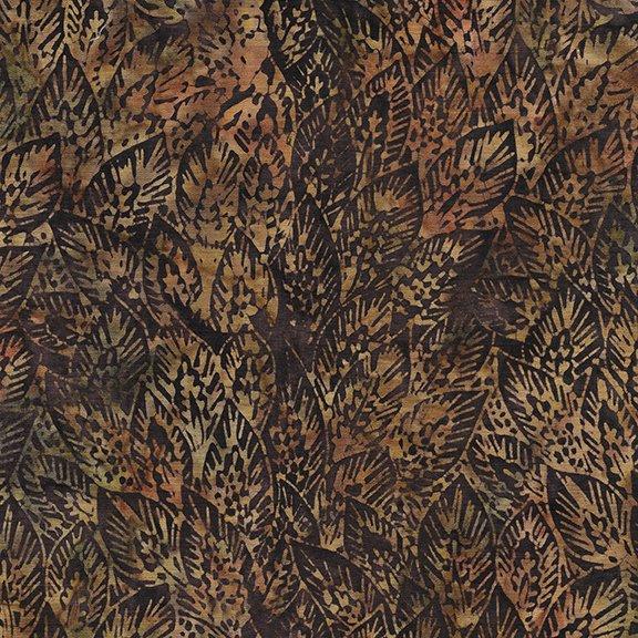 Lg Wheat Leaves- Brownie