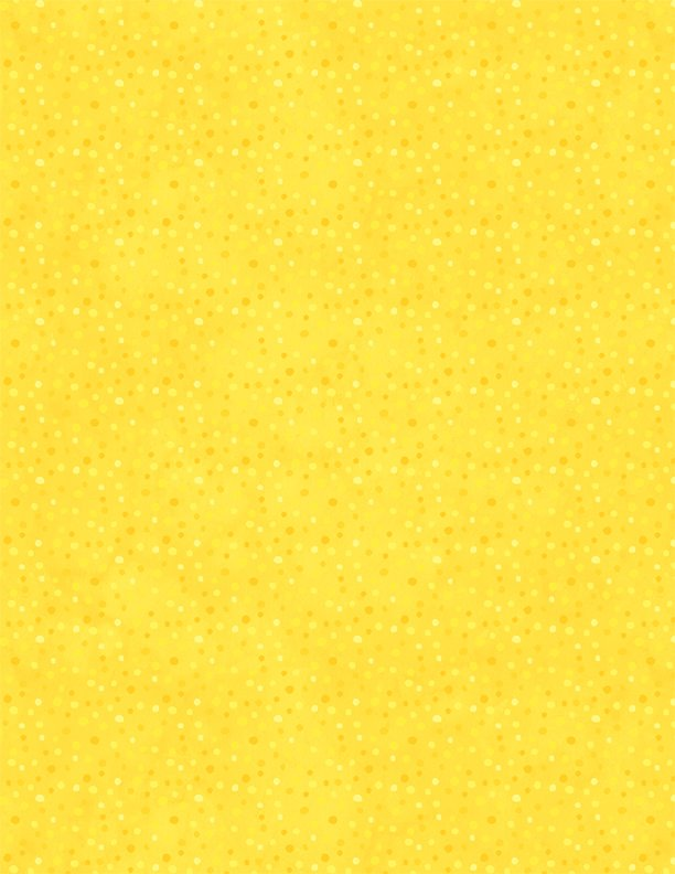 Petite Dots Bright Yellow