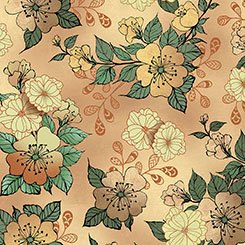 Manor House - Floral - Taupe