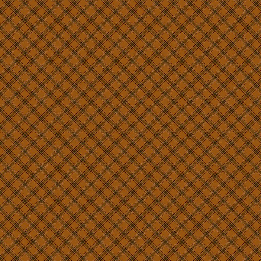 9135-30 Orange Trellis