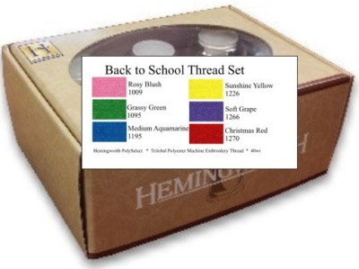 Hemingworth Back To School Thread Set
