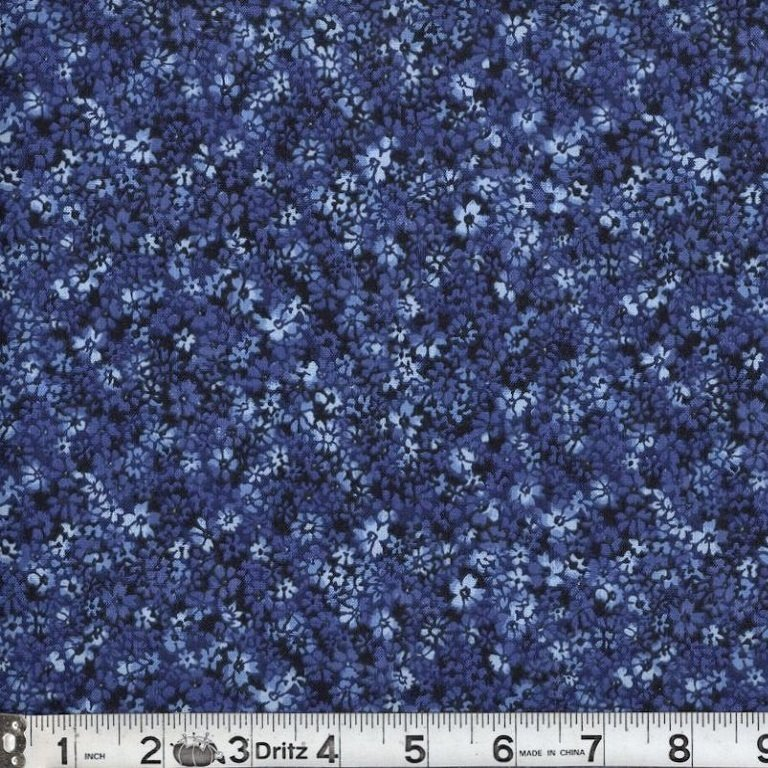 Confetti Floral Navy