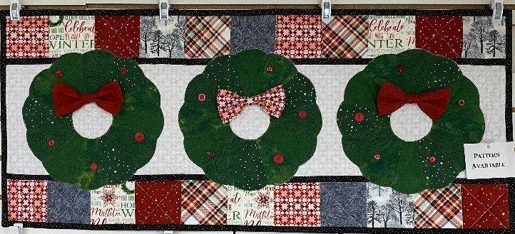 December Bench Pillow - Kimberbell