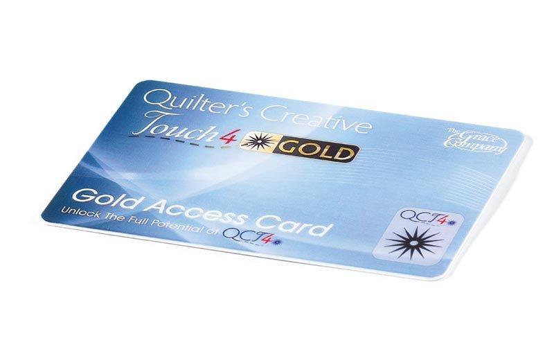 QCT4 Gold Card Access Qnique