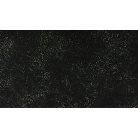 JB302-MO8B Malam Batiks VII - Swirl - Moss