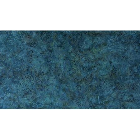 JB302-TE6B Malam Batiks VII - Swirl - Teal