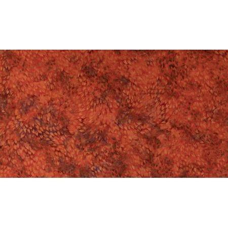JB304-OR3B Malam Batiks VII - Scales - Orange