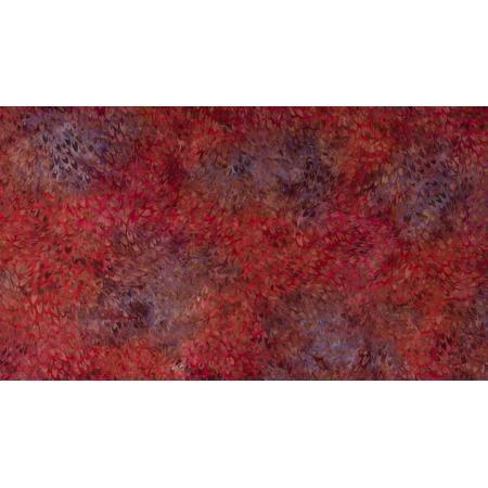 JB304-RU2B Malam Batiks VII - Scales - Ruby