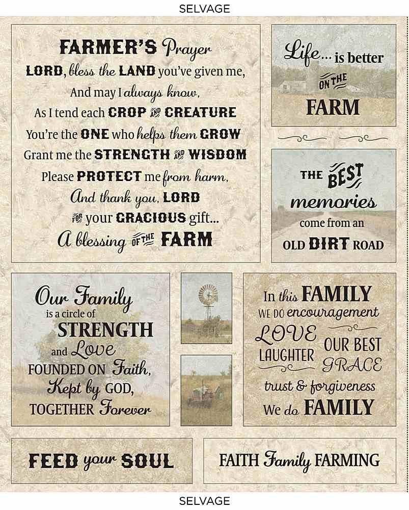 FARMER'S PRAYER PANEL