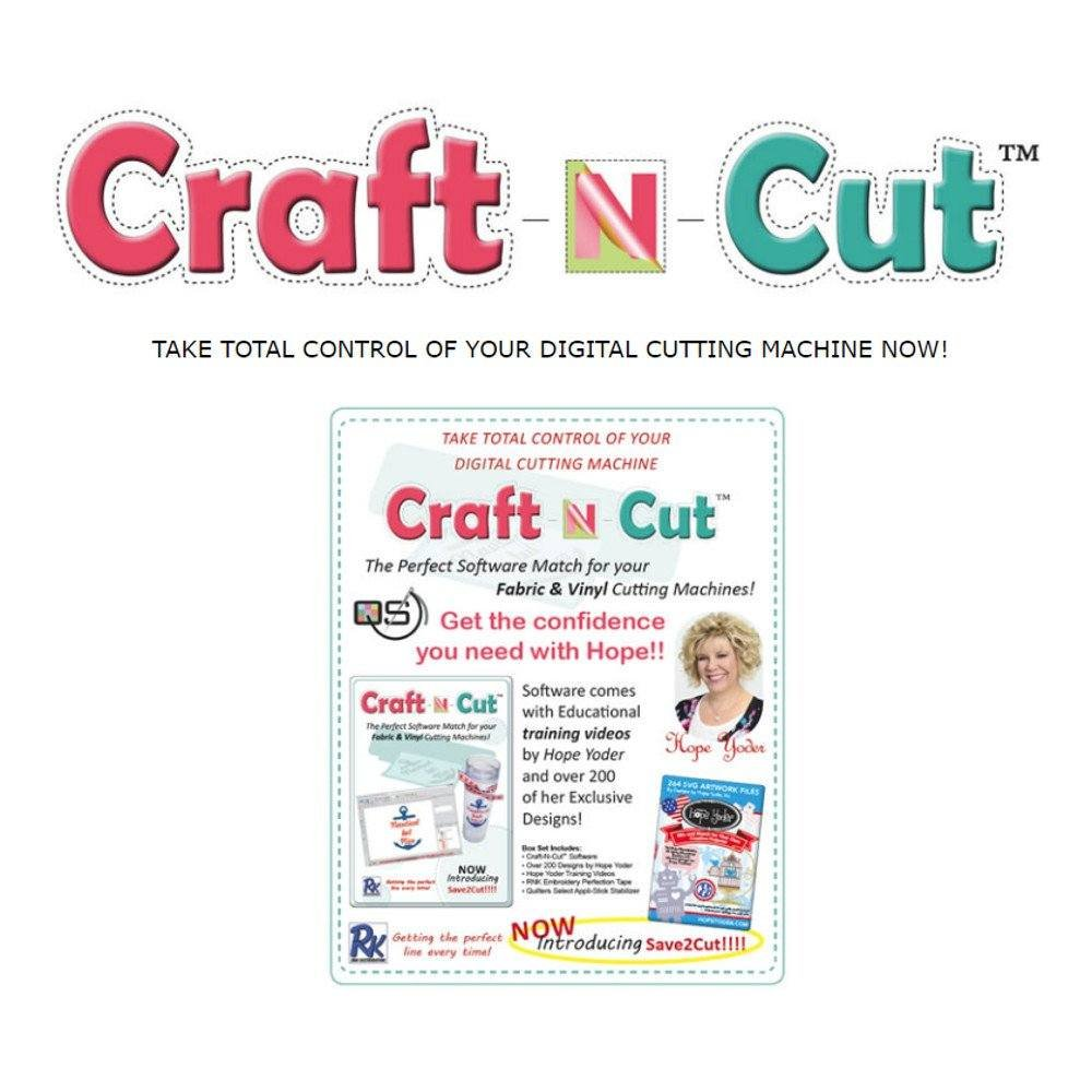 Quilters Select Craft N Cut Software