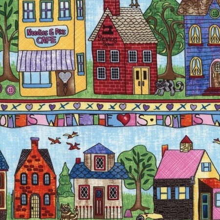 Neighborhood Row Stripe