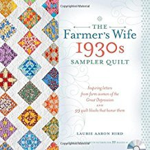 Farmer's Wife 1930's Sampler Quilt - Softcover