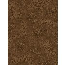 7210 205 Espresso Brown Scroll 108in Wide Backing