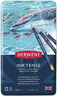 DERWENT INKTENSE PENCIL SET OF 12