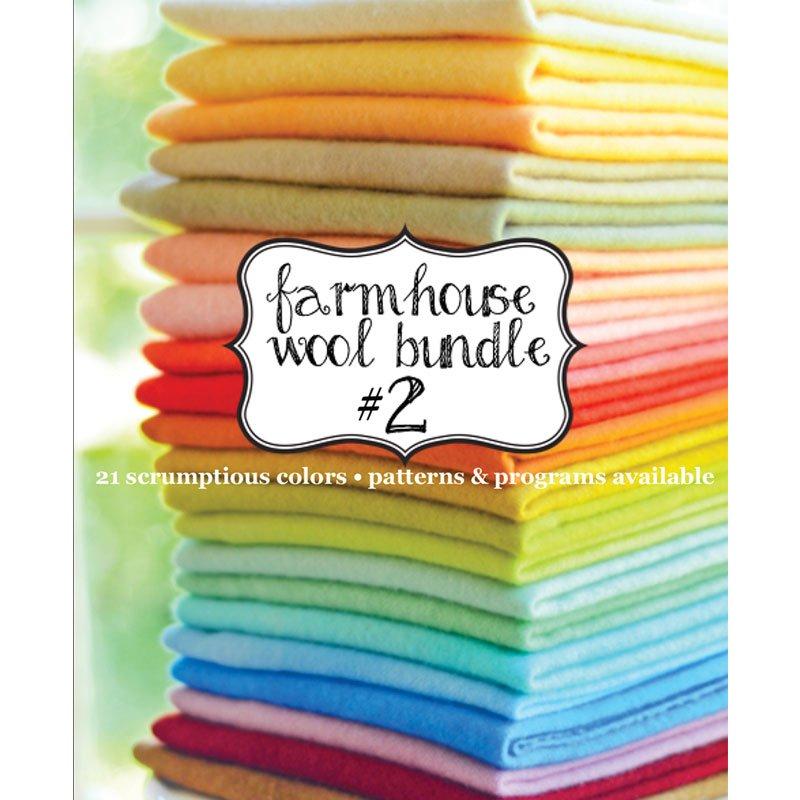 1/12 Retro Farmhouse Wool Bundle 21 fat-twelfths