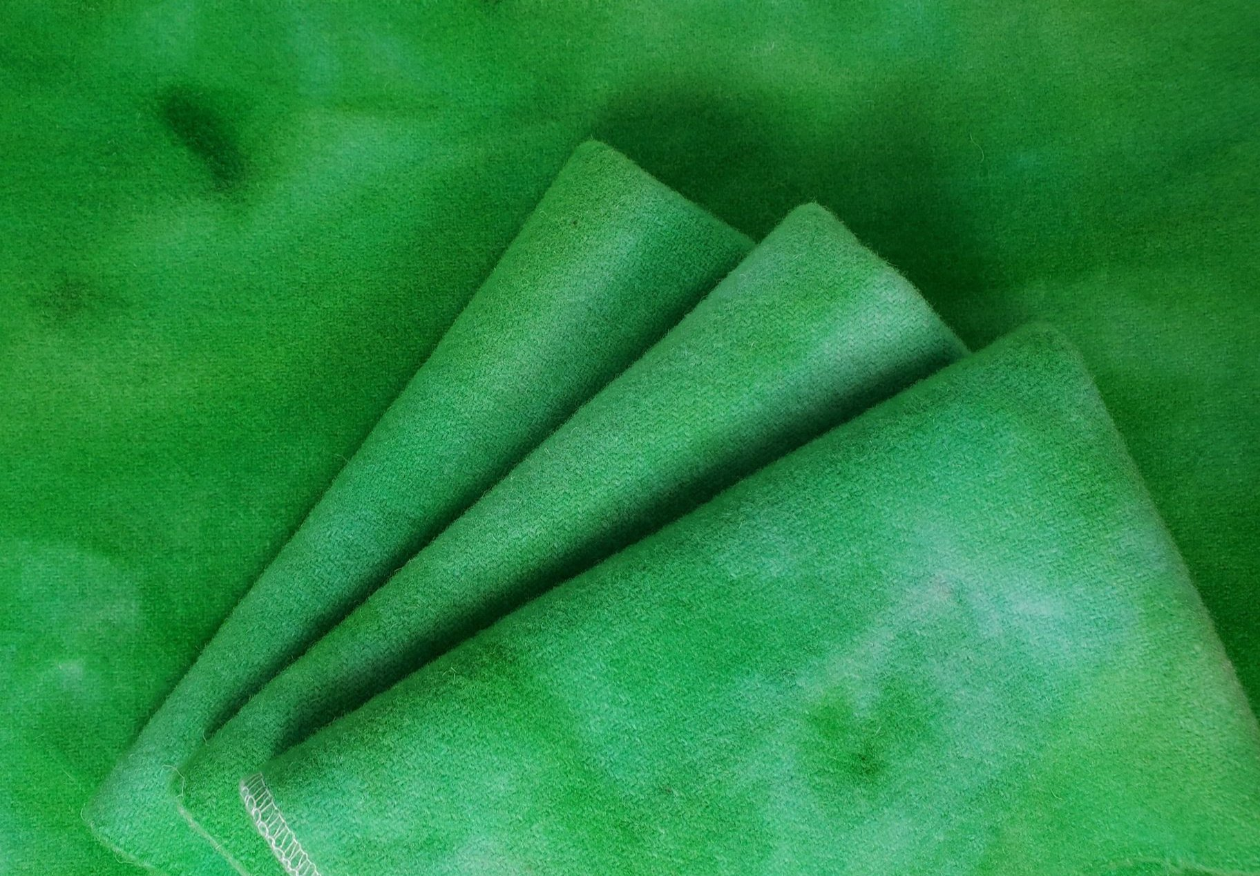 FCG FAT 16TH HAND DYED WOOL GREEN