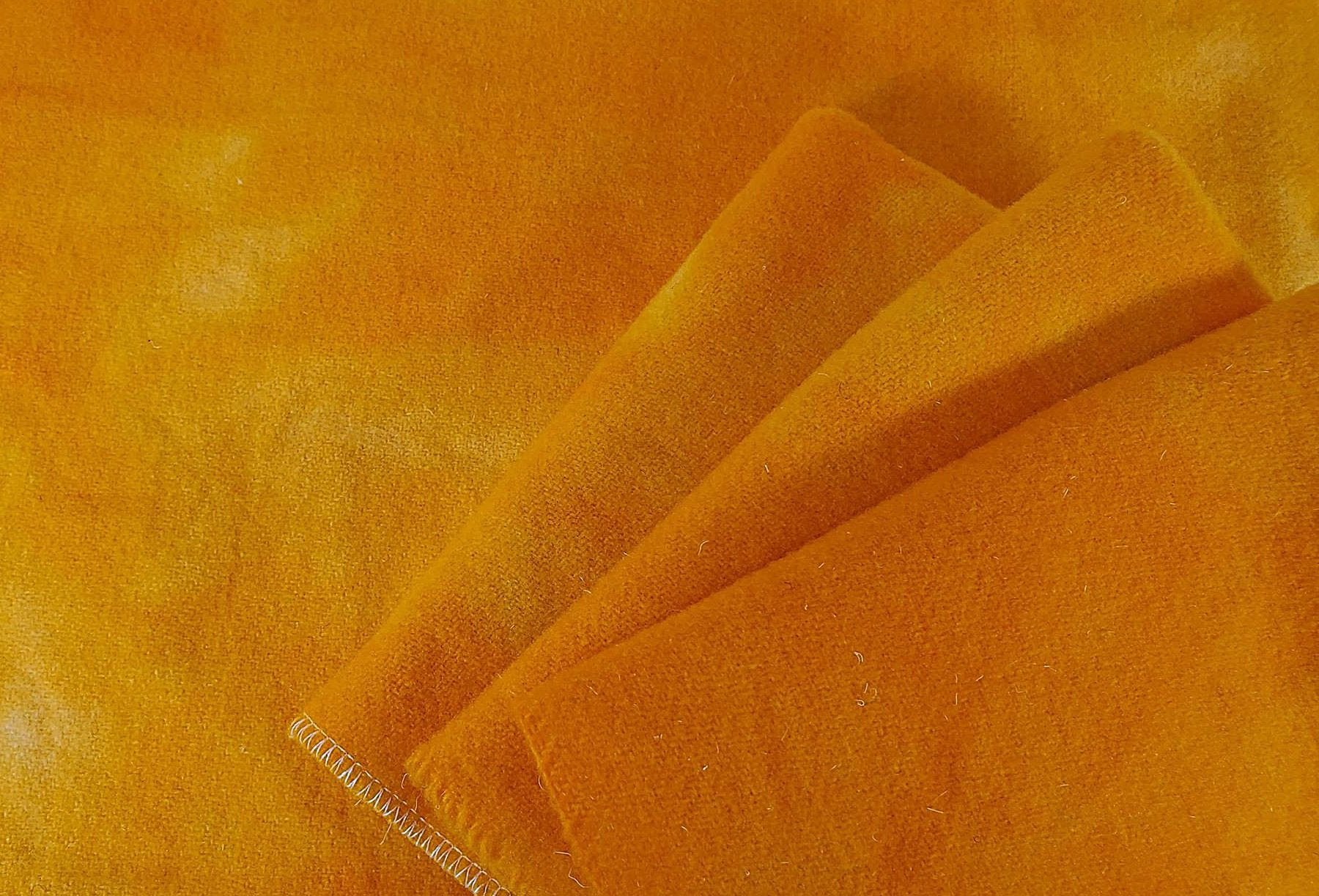 LIMT FAT 16TH HAND DYED WOOL TANGERINE