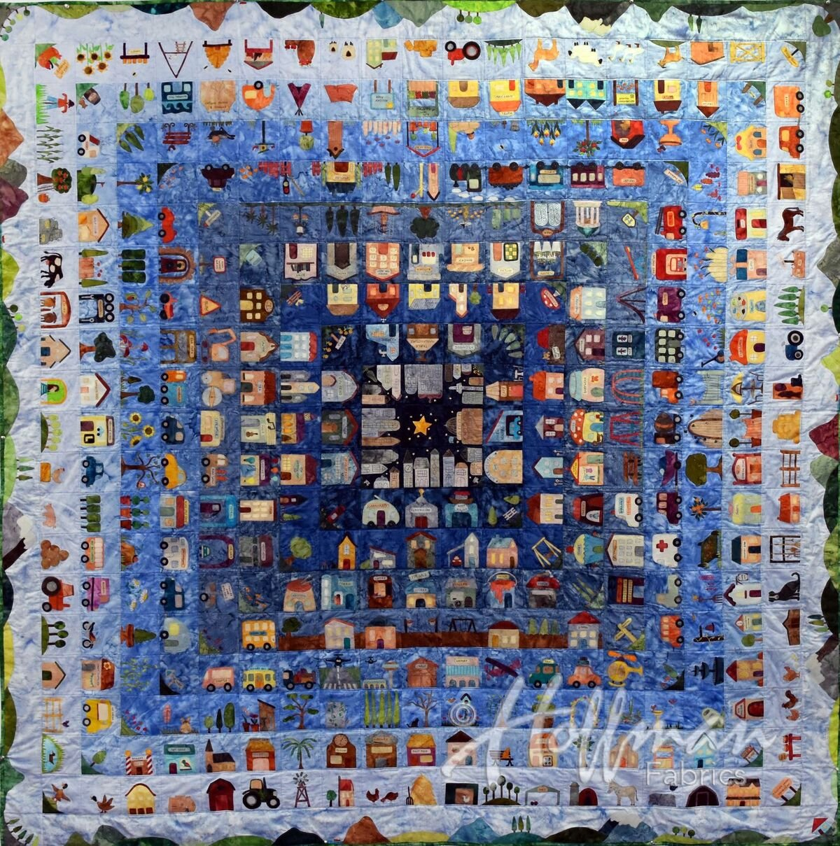 That Town and Country Quilt Kit