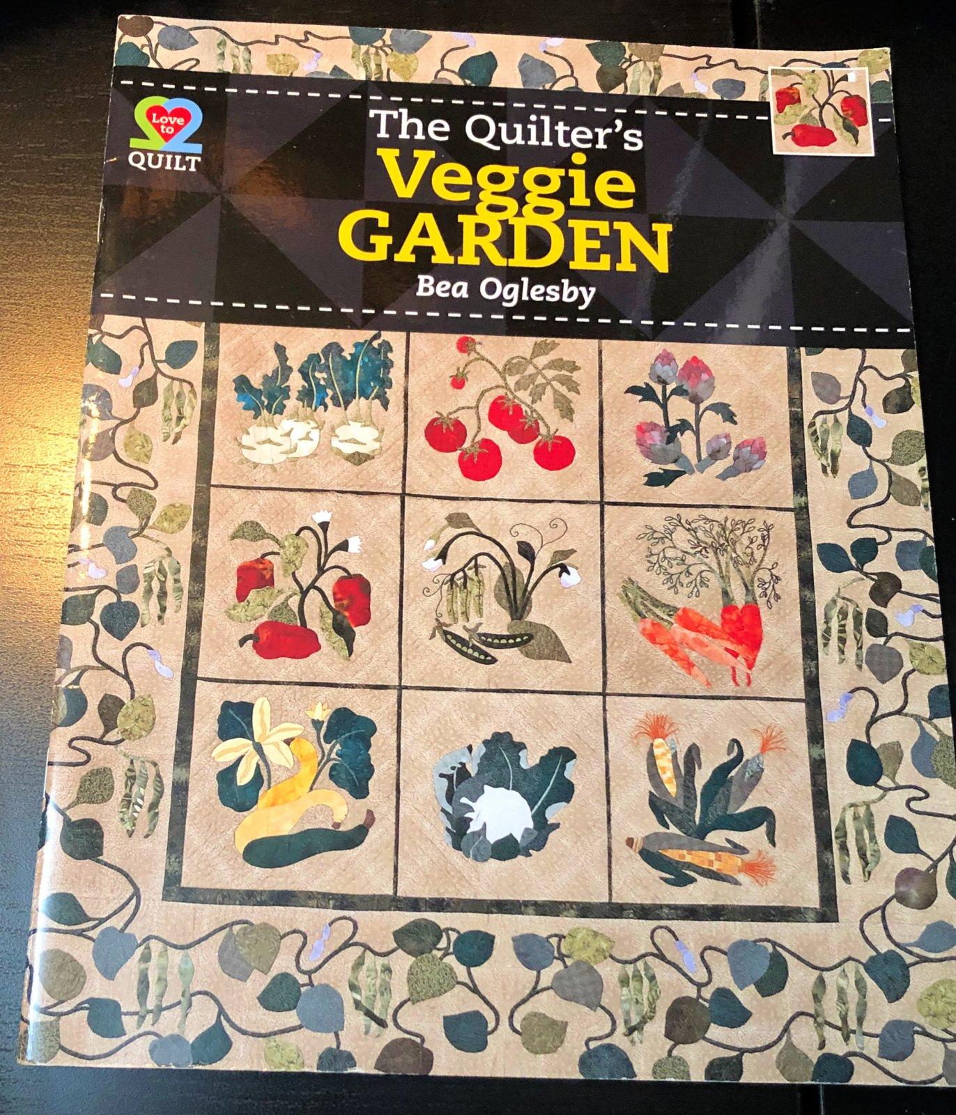 (B35) The Quilters Veggie Garden