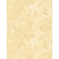 108 Wide Flourish Ivory 6608-111