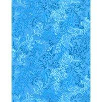 108 Wide Flourish Blue 6608-404