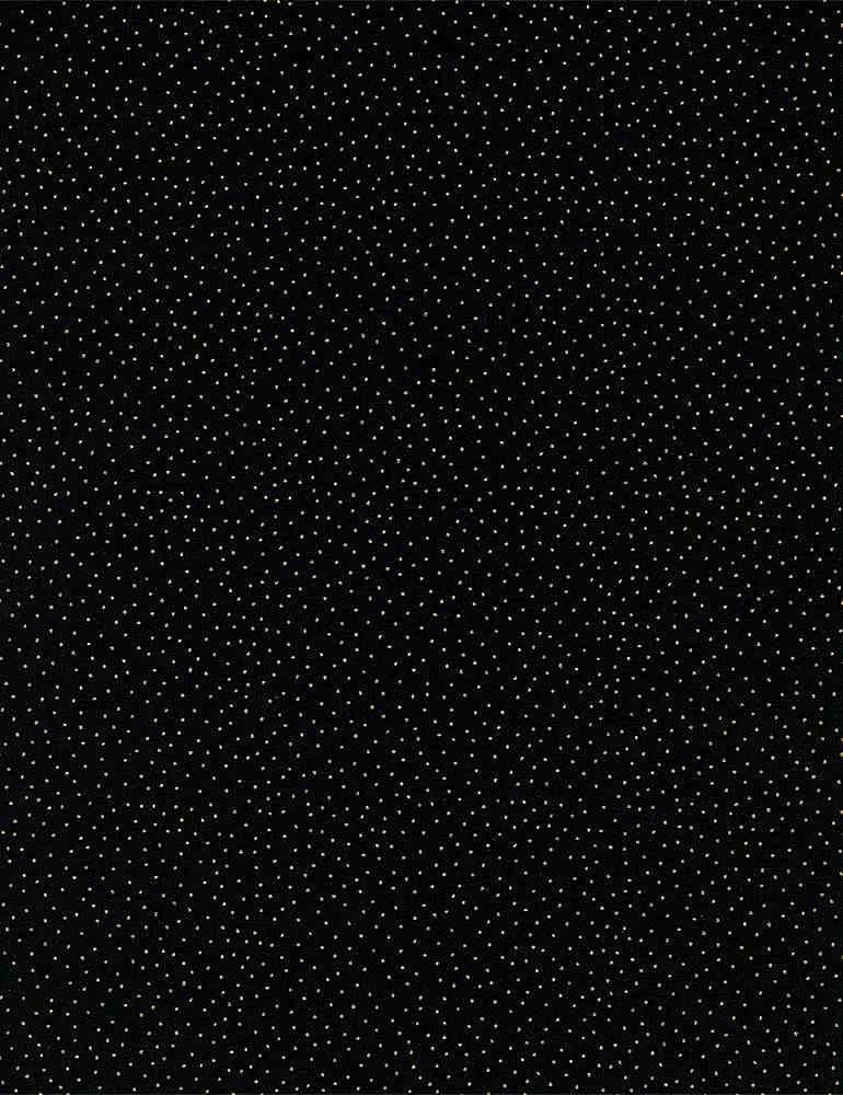 Metallic Dot 9528-Black