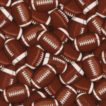 Packed Footballs 4822-Brown