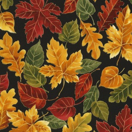 Autumn Leaves CM5207-Black
