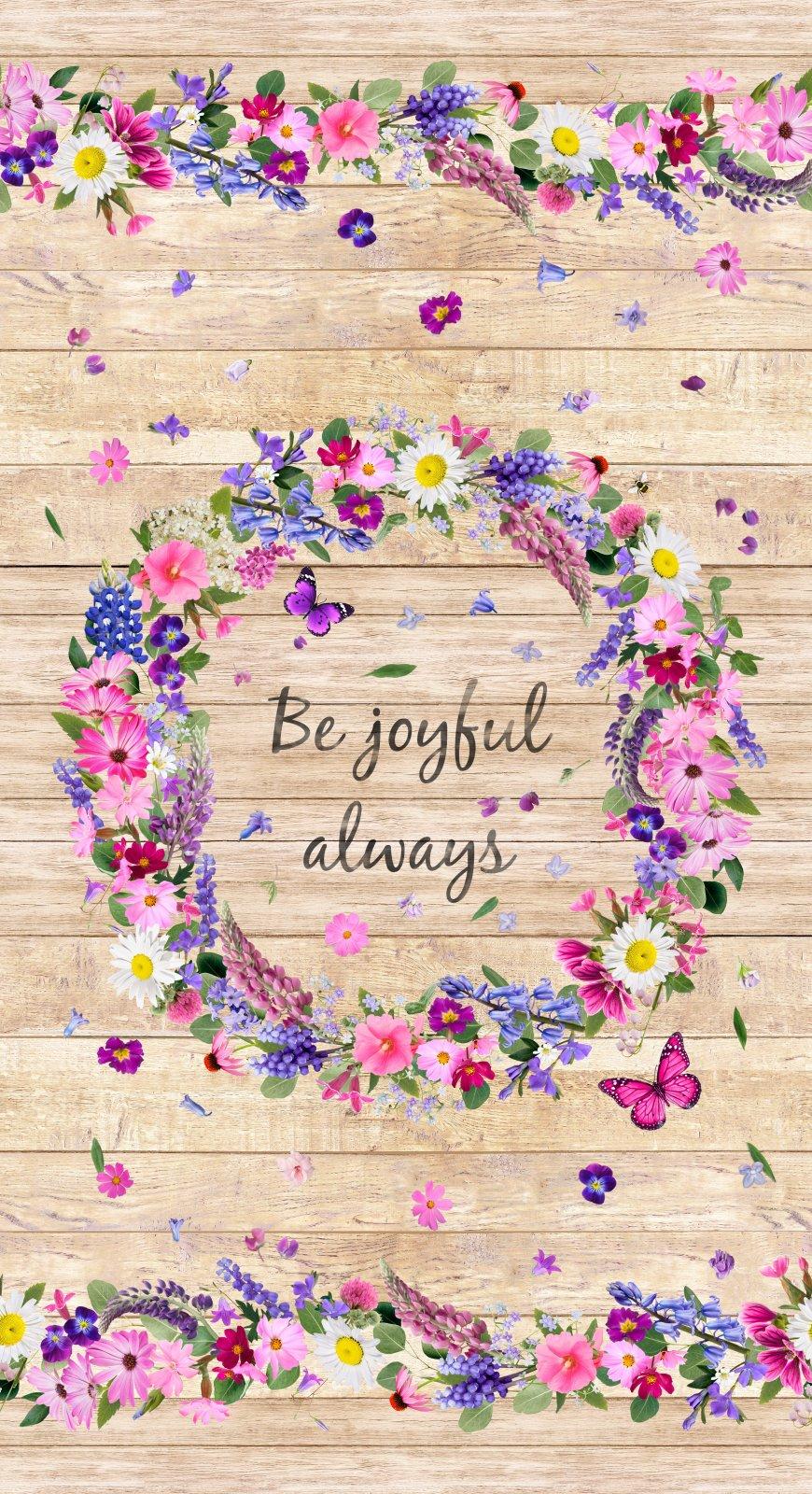 Be Joyful Always Panel