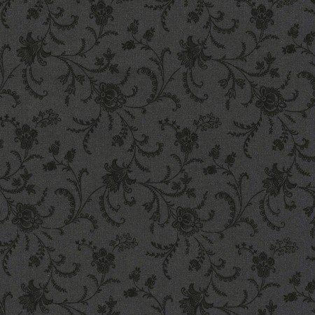 108 Wide Viney Floral C4783-Charcoal