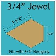 3/4 Jewels (84 pieces)