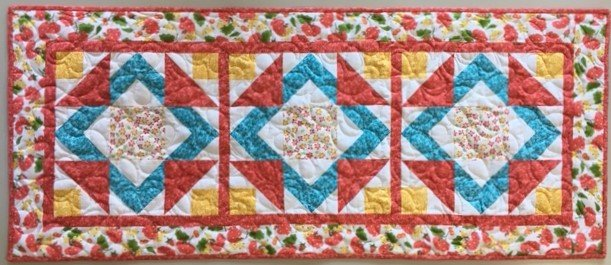 Illusionary Table Runner Kit w Pattern
