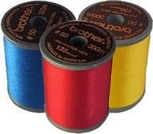 Metallic Thread Red 993