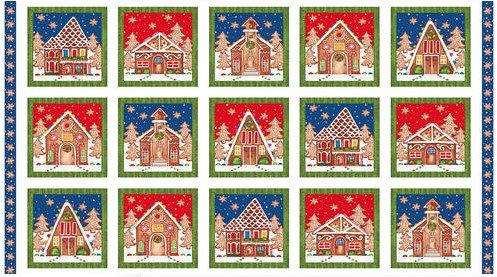 Gingerbread Factory Blocks