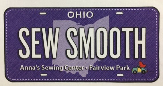 Sew Smooth Anna's Sewing Ctr. Fabric Plates