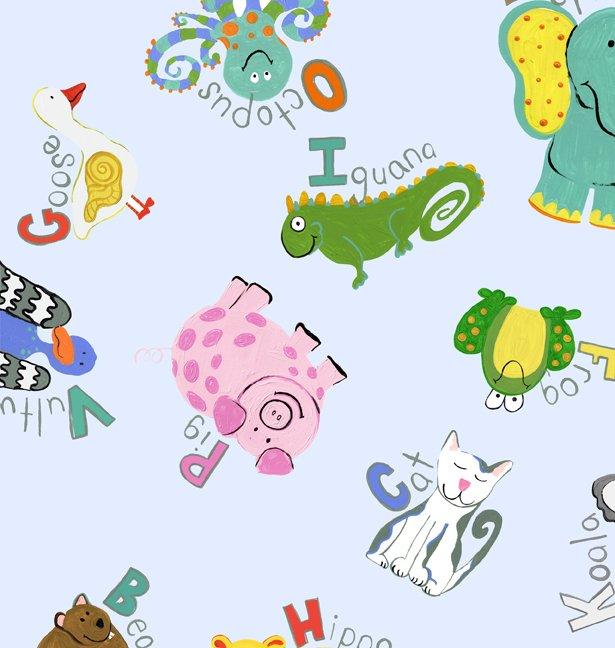 ABC Animals Flannel