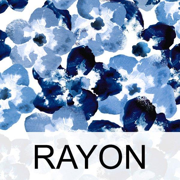 Inspired Indigo Rayon