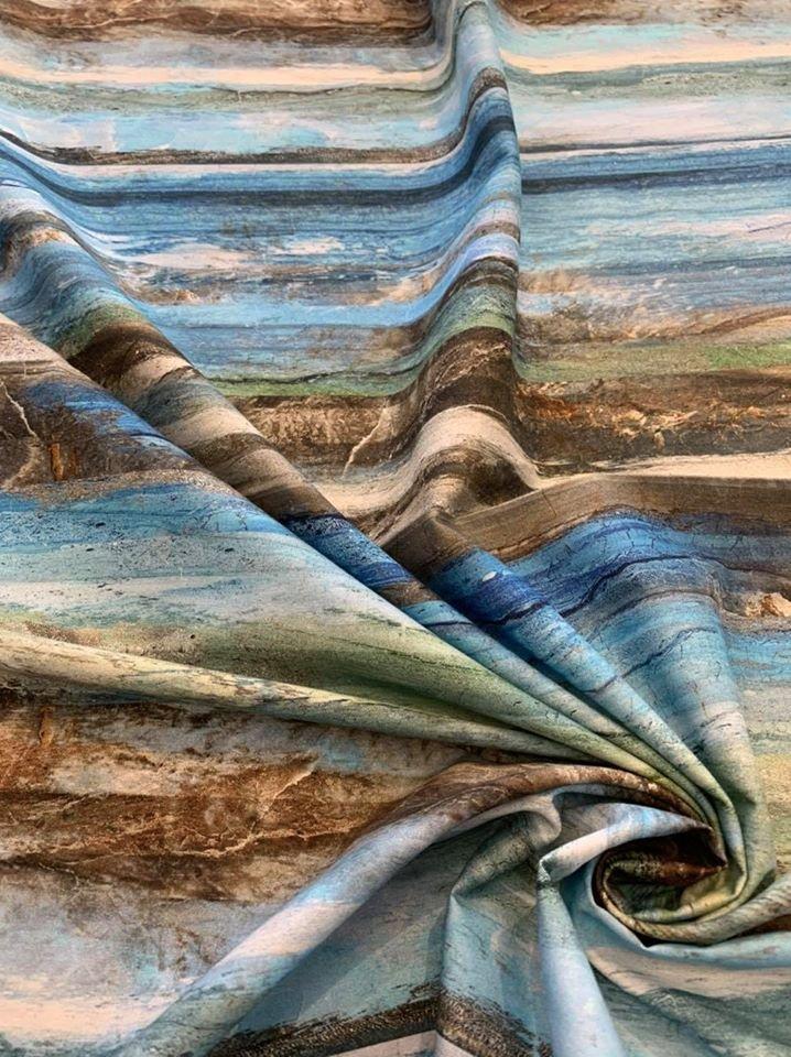 Swept Away Stripe in Blue Multi