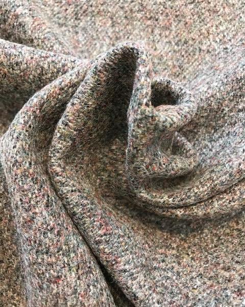 Brown Flecked Wool Tweed