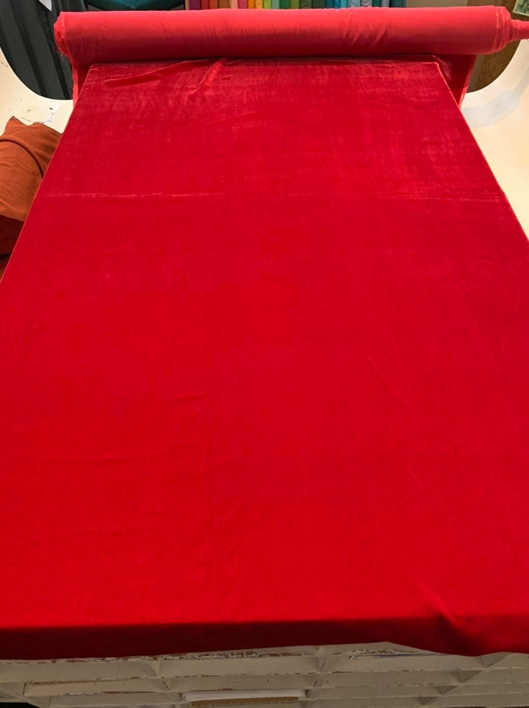 Red Silk Velvet