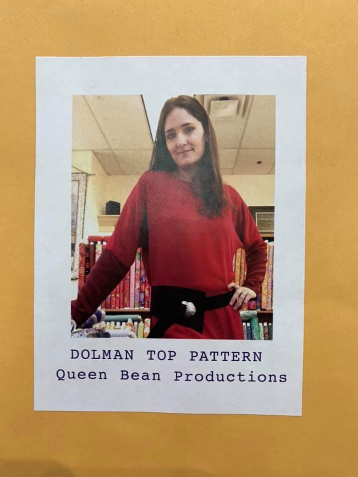 QBP Dolman Top Pattern