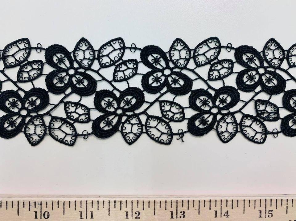 Black Clover Lace Ribbon