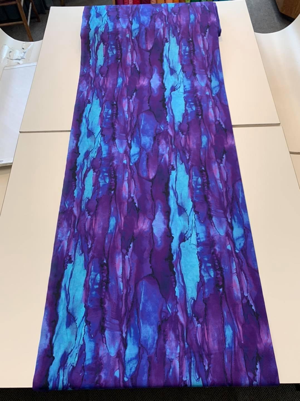 Reflections in Galaxy (Purple/ Aqua)
