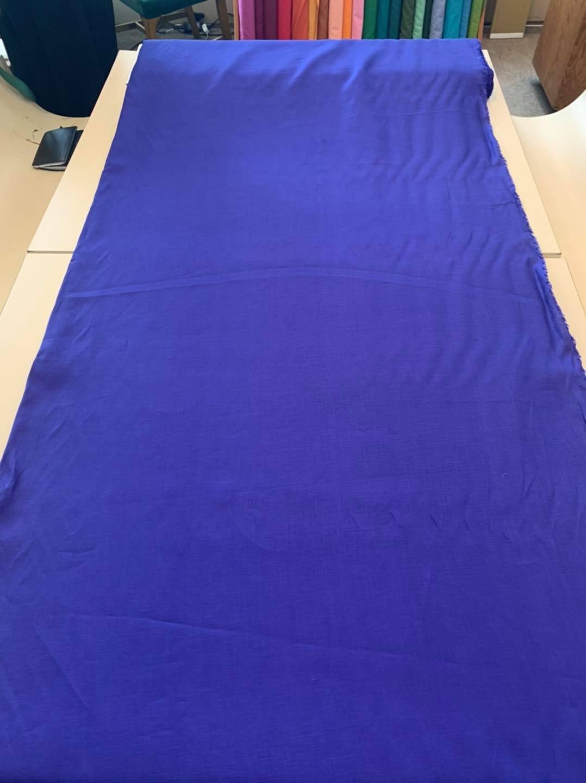 Ultramarine Handkerchief Linen