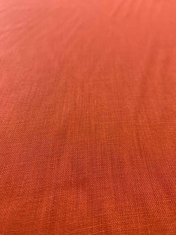 Rust Italino Linen