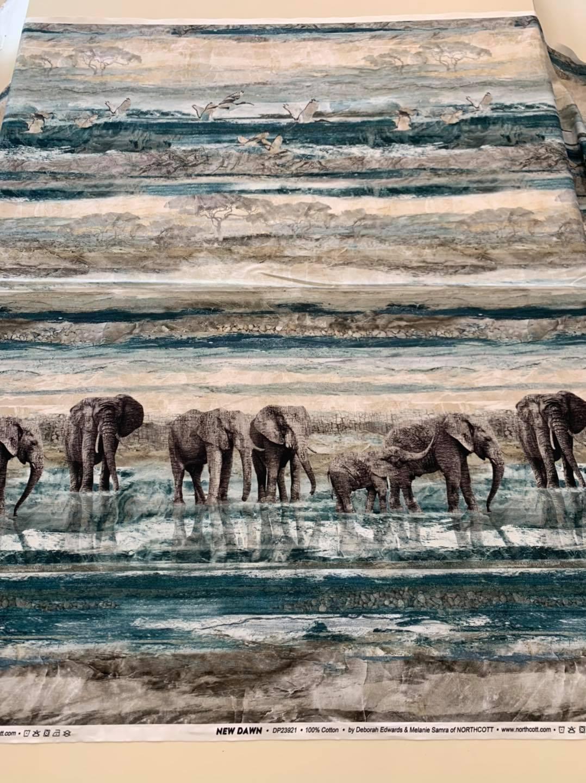 Dawn Elephant